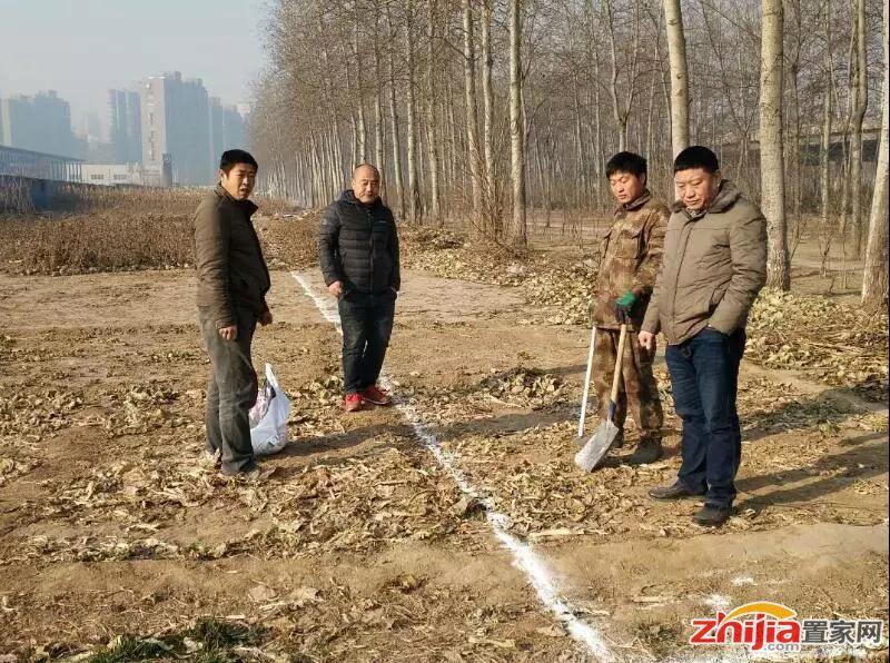 【快讯】宋村城中村改造项目开始围档放线施工
