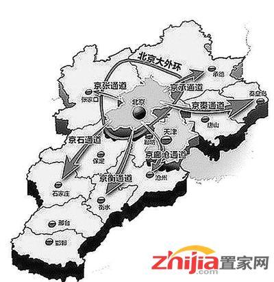 京津冀一小时交通圈渐成雏形