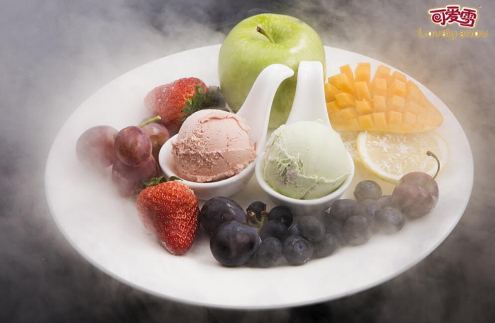 可爱雪冰淇淋玩转健康新吃法