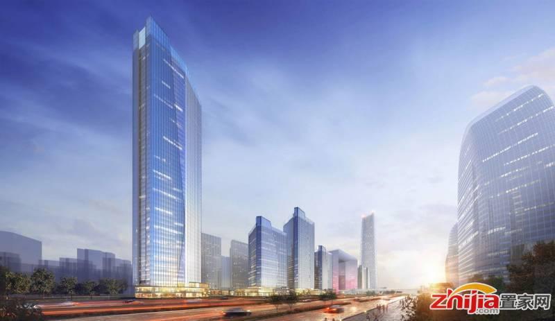 天山•世界之门国际金融中心(450米)问鼎金融新天际