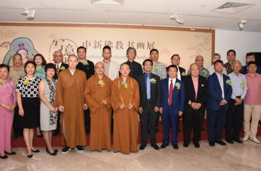 齐鲁佛教文化走进新加坡中国文化中心