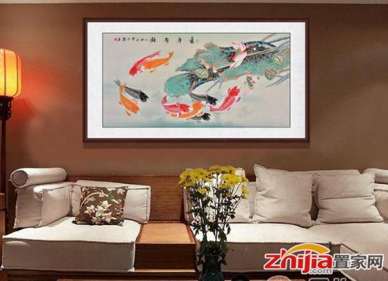 客厅墙壁挂画 羽墨老师工笔花鸟画赏析