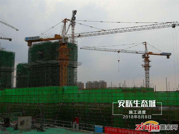 【安联生态城】西兆通改造大盘施工最新进度曝光
