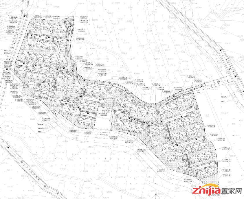 石家庄半山流溪小镇一期1号、2号地块项目规划方案公示