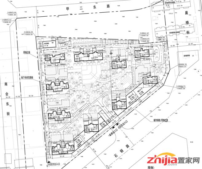 石家庄汉邦房地产开发有限公司汉邦·红树项目规划公示