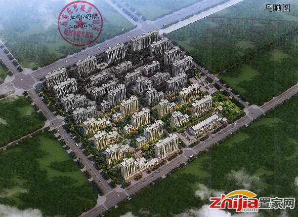 石家庄天河明郡设计方案公示,将建12栋住宅楼