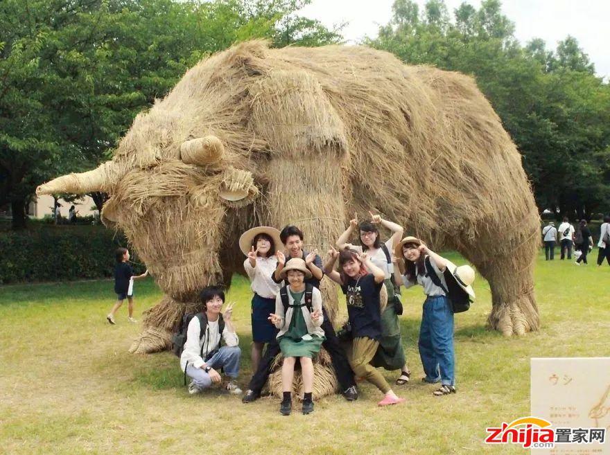 """风靡全球的""""稻草艺术节""""空降大吾川,十一赶紧安排上!"""