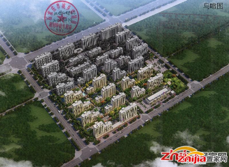 天河明郡 栾城区城中村改造 超大社区占地约1700亩