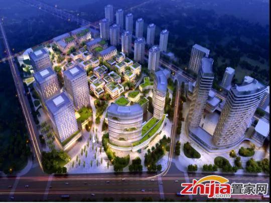 梦巢小镇 投资30亿元!地标性建筑将崛起,鹿泉越来越有国际范儿!
