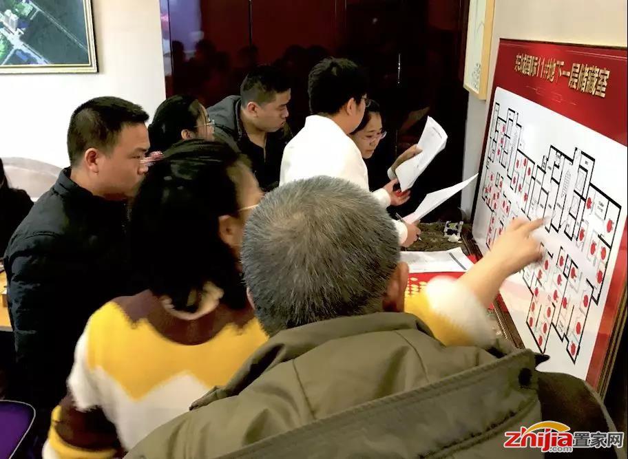 现场实况!东城国际10#、11#储藏室开盘全线飘红!