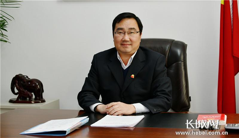 专访石家庄市栾城区委文牍张旭