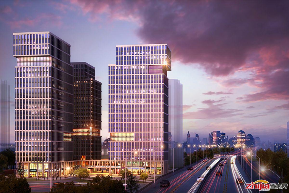 中房元泰广场 打造2万㎡的公园式办公生态景观