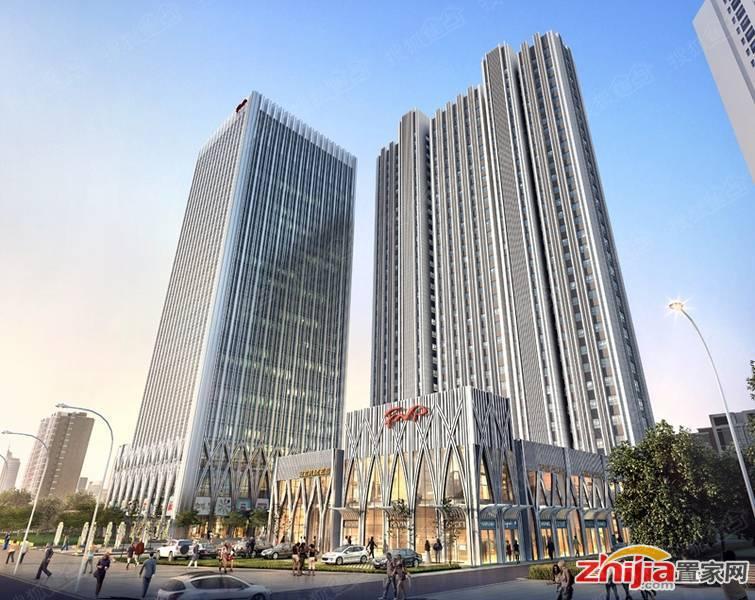 华庭国际广场A座住宅、B座写字楼获得预售许可证