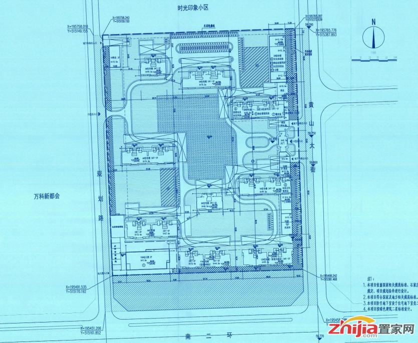 丰铭 鹿鸣台住宅小区规划设计方案变更